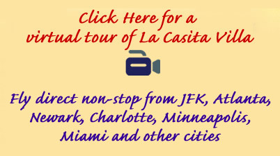 Click for Virtual Tour of La Casita Villa